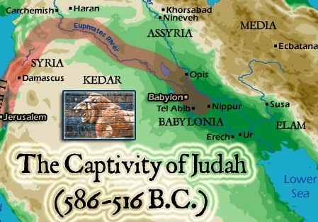 How long were the jews in babylon?
