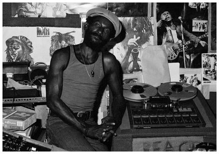 "Legendary producer Lee ""Scratch"" Perry"