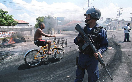 violence in kingston jamaica